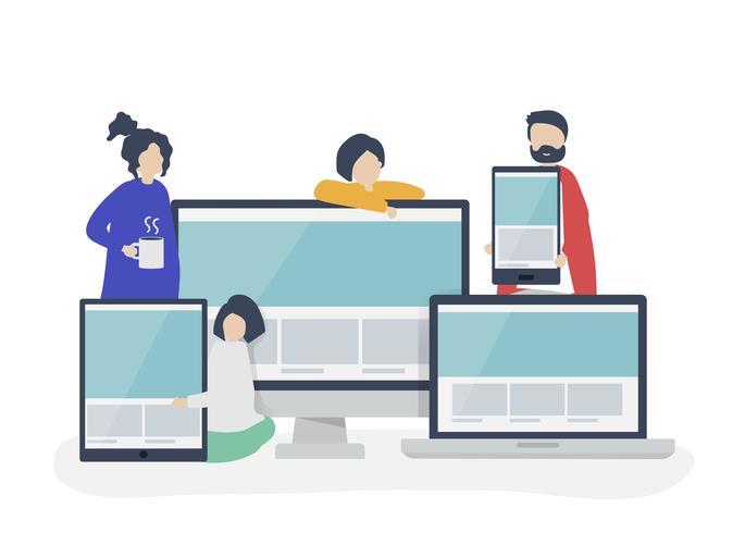 Basic list of new web design trends